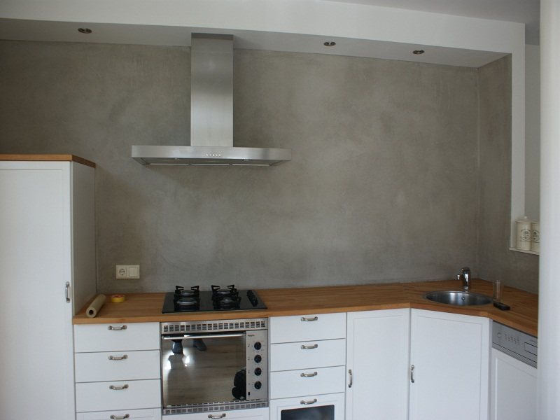 Betonlook Keuken Achterwand : Magic Kitchen Showroom