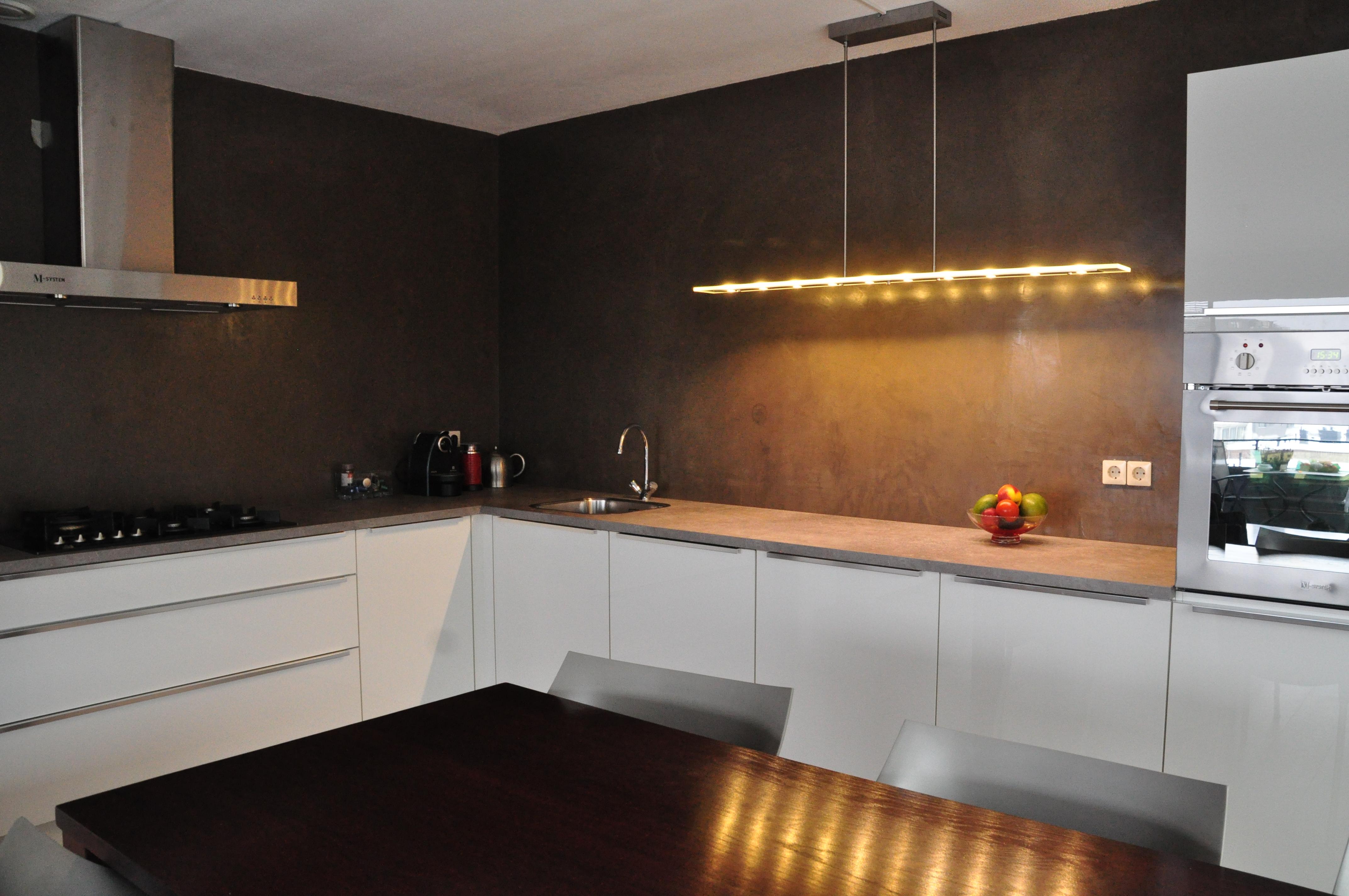 De Spaan Showroom Stucwerk Keukens Achterwanden Project
