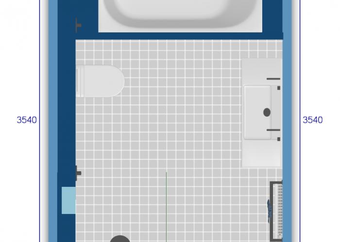 Badkamer ontwerp 3D Arnhem88