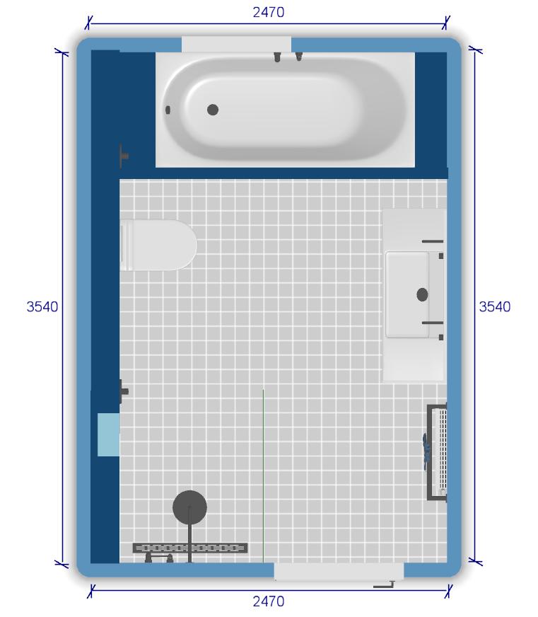 De Spaan Showroom Microcement Badkamer Naadloze Wanden