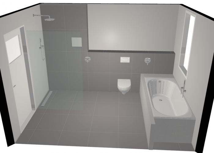 Badkamer ontwerp 3d Arnhem 3