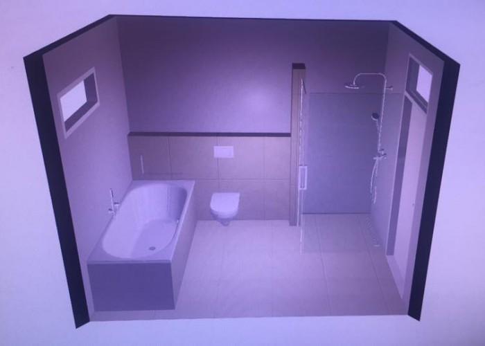 De Spaan Microcement Badkamer Microbeton Naadloos Wanden Douche 3D ontwerp 2