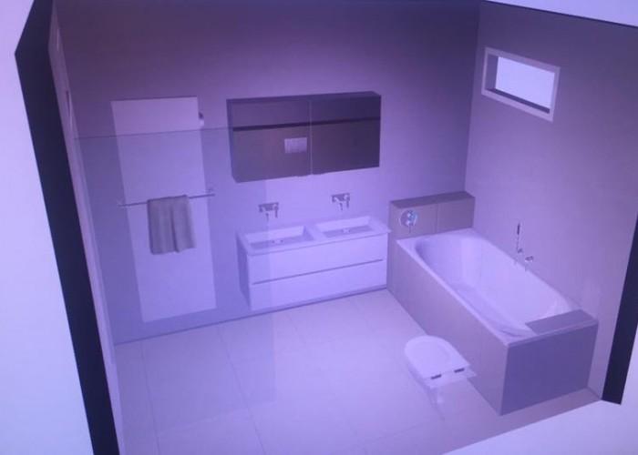 De Spaan Microcement Badkamer Microbeton Naadloos Wanden Douche 3D ontwerp 5