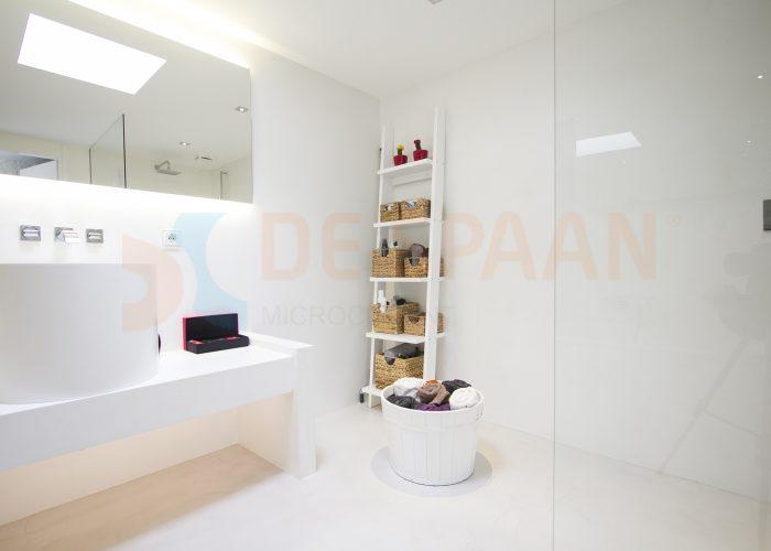 Beton Gietvloer Badkamer : De spaan showroom u badkamer van beton microcement project oosterbeek