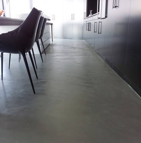 Microcement appartement Rotterdam 1