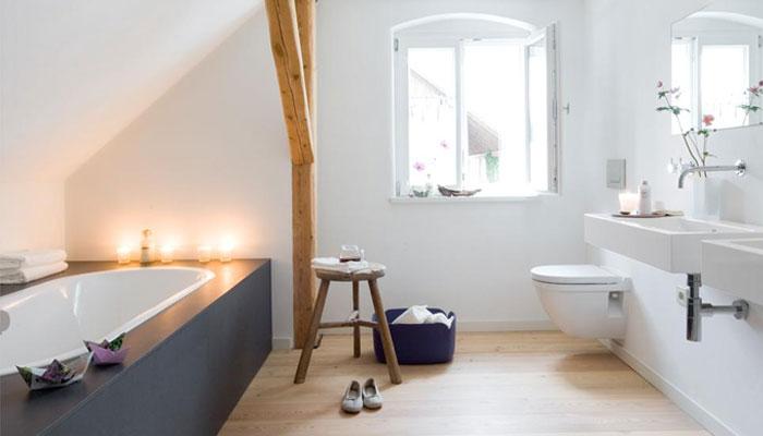 Badkamer Landelijk Modern : Landelijke badkamer voorbeelden inspiratie slimster