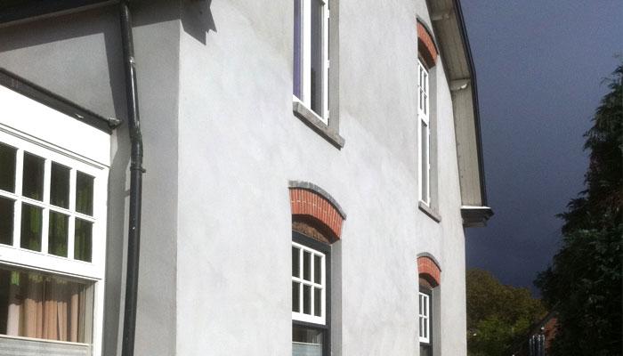 Stucwerk Buitengevel / Isolatie