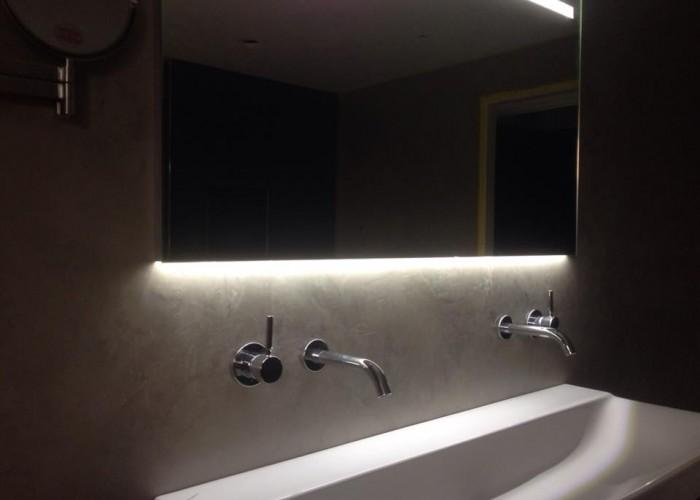 De Spaan Showroom – Microcement Badkamer (naadloze wanden) Project ...