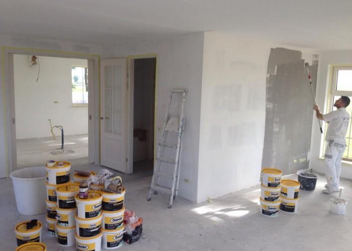 nieuwbouw spachtelputz 2