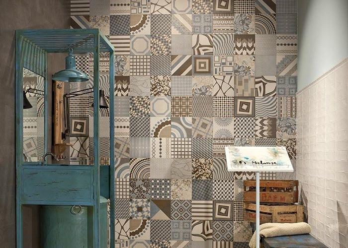 peronde wand tegels decoratie de spaan showroom